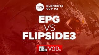 Elements vs Flip.Sid3, game 1
