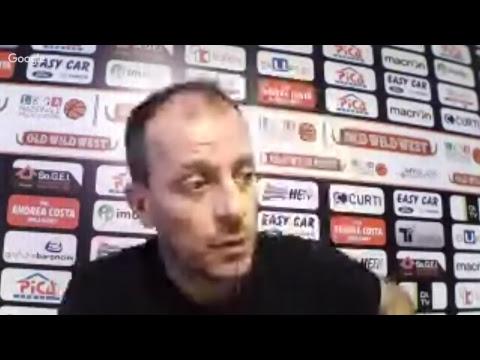La conferenza stampa di Demis Cavina pre match Trieste