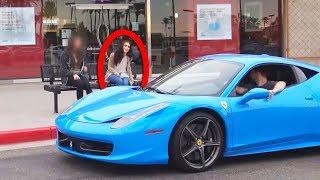 Video See What She Did when She Saw He has a Ferrari! MP3, 3GP, MP4, WEBM, AVI, FLV April 2019