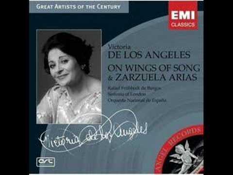 Auf Flügeln Des Gesanges-Victoria de los Ángeles (1923-2005)