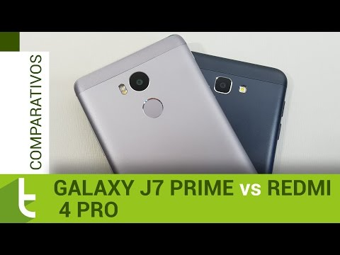 Comparativo: Galaxy J7 Prime vs Redmi 4 Pro  Review do TudoCelular