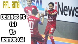 Video Detik detik kemenangan Dekings FC vs Vamos Mataram MP3, 3GP, MP4, WEBM, AVI, FLV Januari 2018