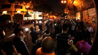 "Far East Movement and Robert Vargas at Artwalk Performing ""So What"""