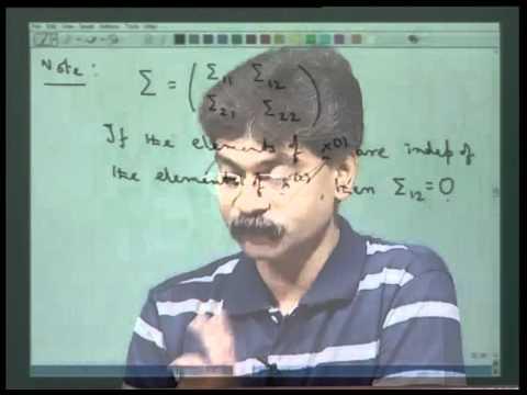 Mod-01 Lec-01 Vorlesung 1 - Grundbegriffe auf multivariate Verteilung - I
