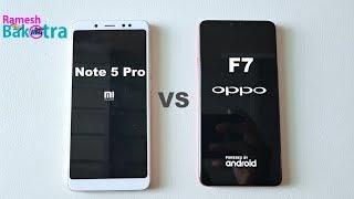 Video Oppo F7 vs Redmi Note 5 Pro Speed Test and Camera Compare MP3, 3GP, MP4, WEBM, AVI, FLV Juli 2018