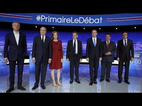 Το πρώτο ντιμπέιτ των υποψηφίων της γαλλικής δεξιάς
