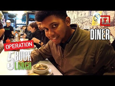The Best Cheap Diner Lunch in NYC || Operation $5 Lunch