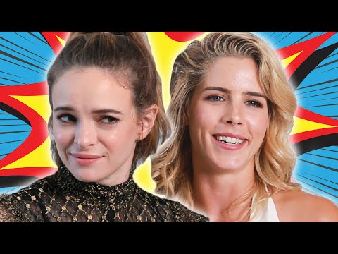 """Stars Of """"Arrow"""" And """"The Flash"""" Play Would You Rather?: Superhero Edition"""