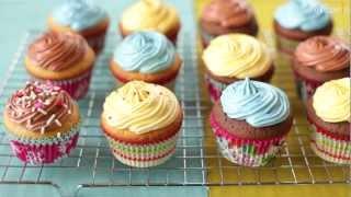 Przepis na babeczki waniliowe i czekoladowe