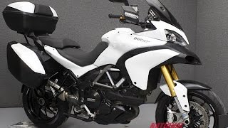 10. 2011  DUCATI  MTS1200S MULTISTRADA 1200 S TOURING - National Powersports Distributors