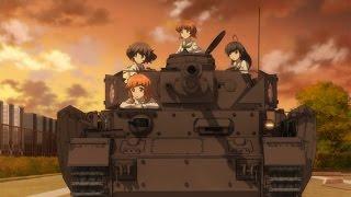 「ガールズ&パンツァー 劇場版」予告編 #Girls und Panzer #Japanese Anime