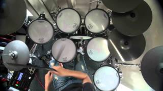 You Only Live Once Drums cover .avi