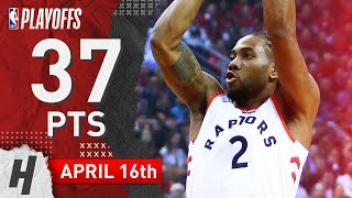 Kawhi Leonard Full Game 2 Highlights Raptors vs Magic 2019 NBA Playoffs - 37 Pts, 4 Ast, 4 Reb!