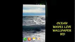 Ocean Waves Live Wallpaper HD YouTube video