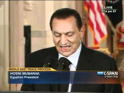 Mid-East Peace Leaders b- Pr. Mubarak  - Will Israel Plunder of Palestine End?
