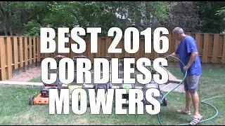 7. Best Cordless Mowers of 2016 - Top 5