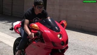 6. The sound of the RED BEAST! DUCATI Superbike 999