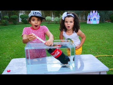 experiment: EXPERIMENT FOR KIDS Coca Cola VS Montos