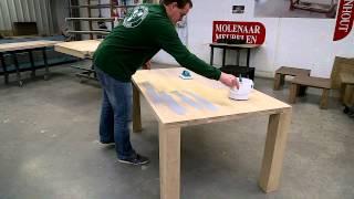 Rubio Monocoat: Oil Plus 2C application on furniture - manual