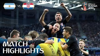 Video Argentina v Croatia - 2018 FIFA World Cup Russia™ - Match 23 MP3, 3GP, MP4, WEBM, AVI, FLV September 2018