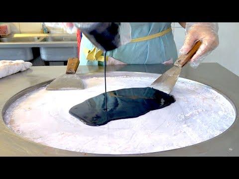 ICE CREAM ROLLS | Yummy Matcha Green tea Waffle / Charcoal Waffle Ice Cream - Thời lượng: 10:12.