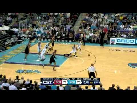 Portland Trail Blazers 91 – New Orleans Hornets 95