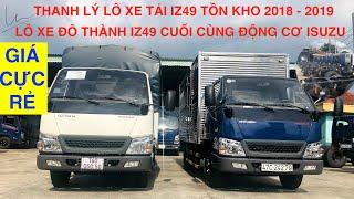 Xe Tải IZ49 2.5 Tấn - Thùng Mui Bạt Và Thùng Kín