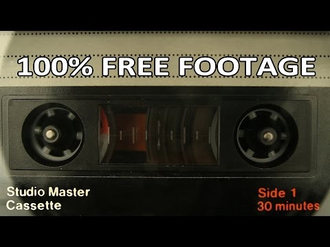 Beachfront B-Roll: Cassette Tape – Loopable (Free to Use HD Stock Video Footage)