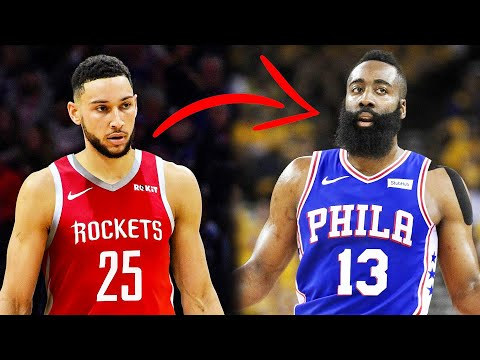 REPORT: PHILADELPHIA 76ERS TRADE BEN SIMMONS FOR JAMES HARDEN WOULD BE DENIED BY THE HOUSTON ROCKETS