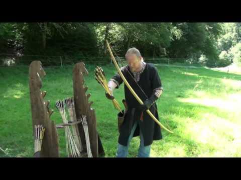 Langbogen Medieval Longbow III