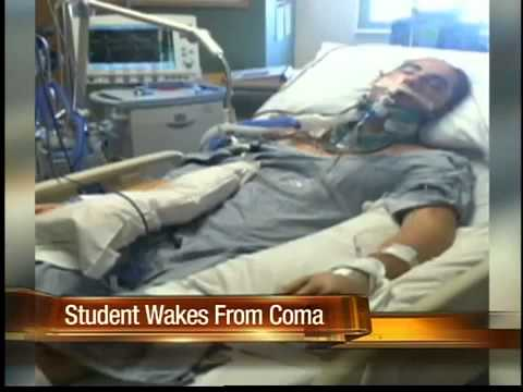 Student wakes up from coma