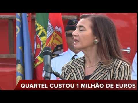 INAUGURADO QUARTEL DOS BOMBEIROS DE ALCÁCER DO SAL