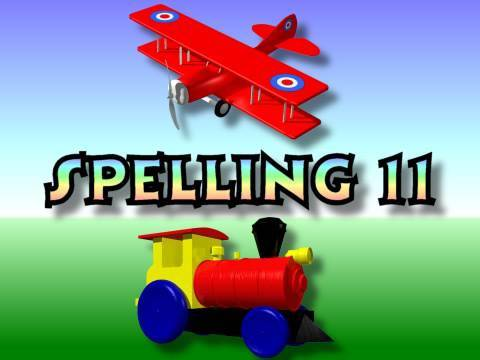 Children's: Spelling 11 - Family