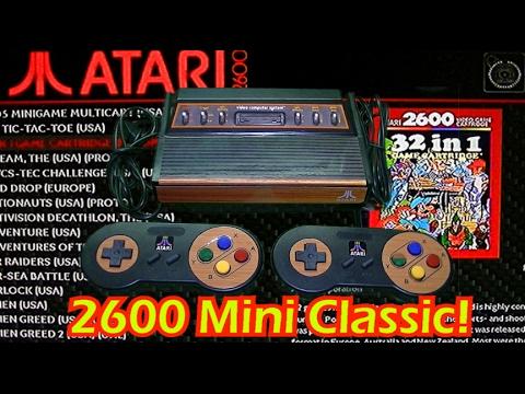 Atari 2600 Classic Mini!