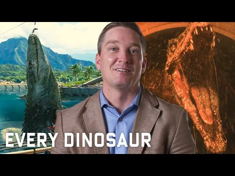 Every Dinosaur In Jurassic Park Series