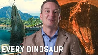Video Every Dinosaur In 'Jurassic Park' Series Explained | WIRED MP3, 3GP, MP4, WEBM, AVI, FLV Maret 2019