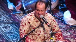 Ustad Rahat Fateh Ali Khan singing Main Tenu Samjhawan Ki live in concert on April 8th, 2017 in Newark, New Jersey.