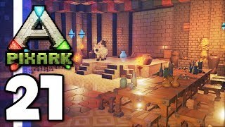 PixARK • PIXARK STEAM KEY GIVEAWAY & Castle Tour! (Ep.21)
