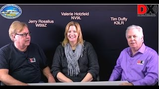 Jerry Rosalius, WB9Z is one of the 3Y0Z DXpedition team members and Valerie Hotzfeld, NV9L is Lead Pilot for the 3Y0Z...