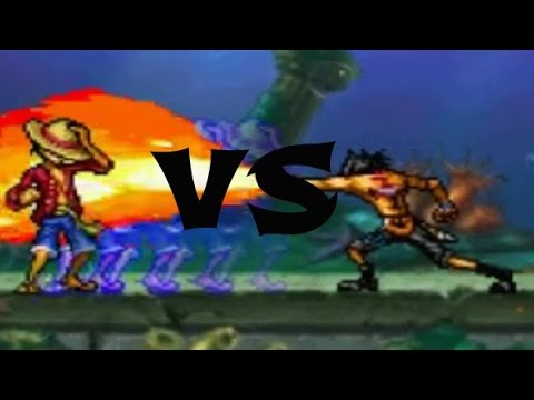 Luffy 2Y vs Ace | Fairy Tail vs One Piece 1.0 | Q_FVO