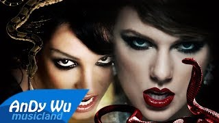 Video Taylor Swift - Look What You Made Me Do (Remix) feat. Britney Spears MP3, 3GP, MP4, WEBM, AVI, FLV Oktober 2018