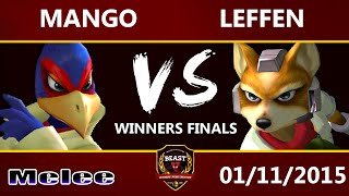 B.E.A.S.T 5 – C9 Mang0 (Falco) Vs. Leffen (Fox) – Melee Winners Final