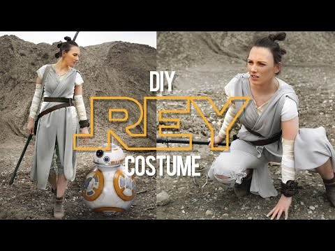 DIY REY COSTUME | STAR WARS | THE SORRY GIRLS
