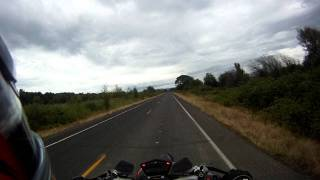 10. Learning how to do power wheelies on 2010 Ducati Streetfighter S and Yamaha R6