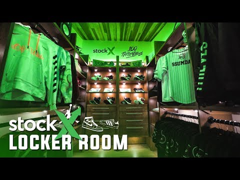 THE FIRST LOCKER ROOM IN ESPORTS HISTORY | 100 Thieves X StockX