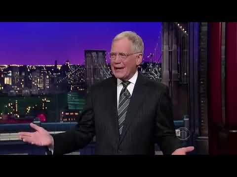 Late Show with David Letterman FULL EPISODE 31212 Will Ferrell Interview