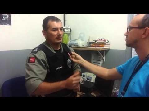 Entrevista com capitão Alberto Filho sobre duplo homicídio e sequestro em Mamanguape-PB