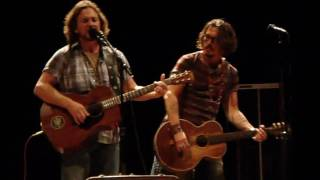 Eddie Vedder Society with Johnny Depp