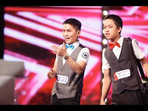 Tiết mục ảo thuật - Bùi Văn Lam, Đức Lợi - Vietnam's Got Talent 2016