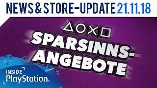 Bis zu 60% Rabatt im PS Store: die Sparsinns-Angebote | Inside PlayStation News & Store Update